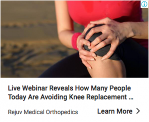 Knee Replacement Ad